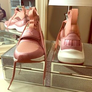 Brand new puma pink shoes